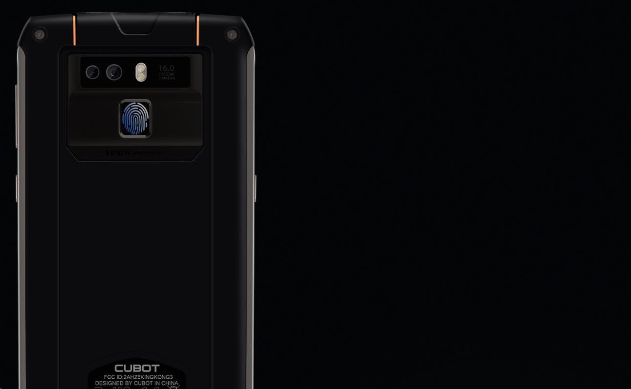 Cubot King Kong 3, Dual SIM, LTE, 64GB ROM, 4GB RAM, IP68 - obrázek č. 13