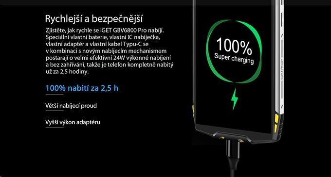 iGET Blackview GBV6800 Pro Yellow - obrázek č. 14