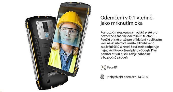 iGET Blackview GBV6800 Pro Yellow - obrázek č. 10