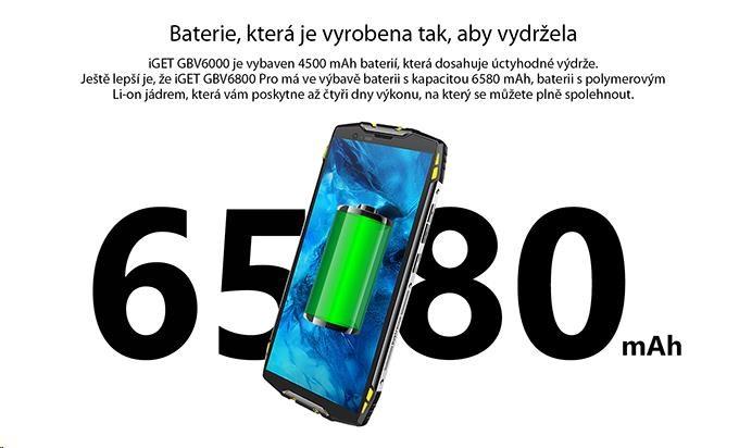 iGET Blackview GBV6800 Pro Yellow - obrázek č. 11