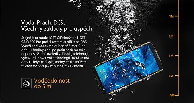 iGET Blackview GBV6800 Pro Yellow - obrázek č. 7
