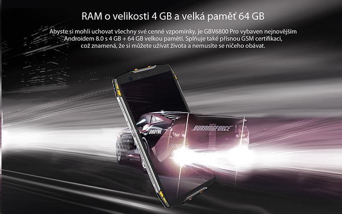 iGET Blackview GBV6800 Pro Yellow - obrázek č. 4