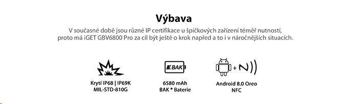 iGET Blackview GBV6800 Pro Yellow - obrázek č. 5