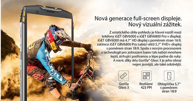 iGET Blackview GBV6800 Pro Yellow - obrázek č. 2