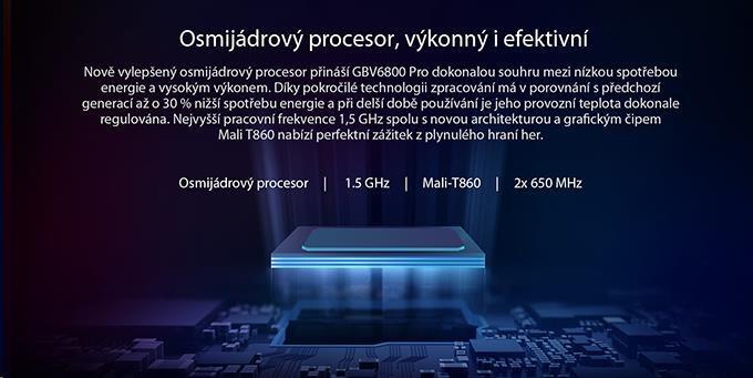 iGET Blackview GBV6800 Pro Yellow - obrázek č. 3