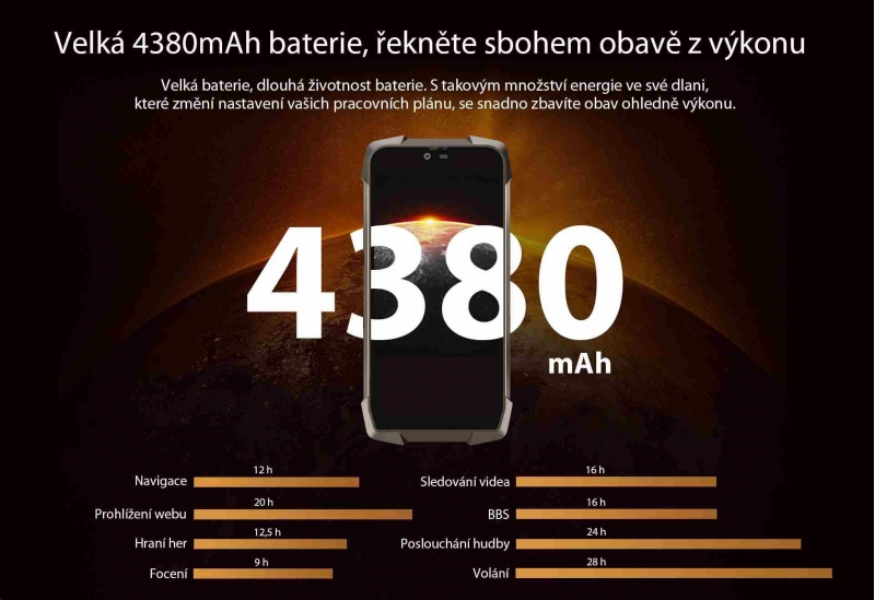 iGET Blackview GBV9700 Pro, 6GB/128GB - obrázek č. 10