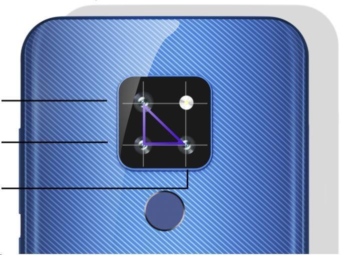 CUBOT P30, 4GB/64GB, Blue - obrázek č. 1