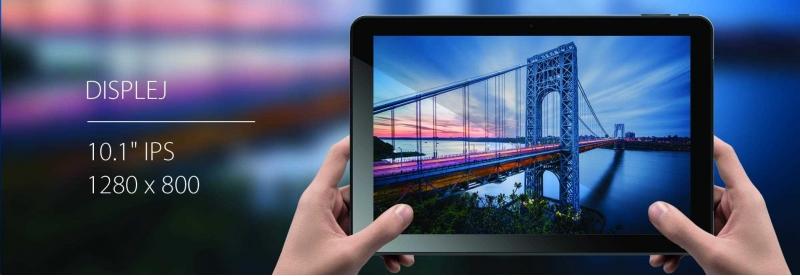 iGET Tablet SMART L101 Black - obrázek č. 1