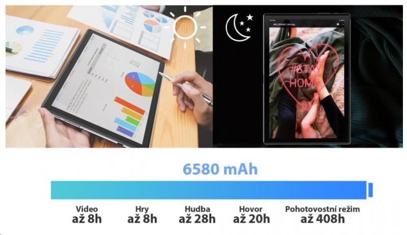 iGET Blackview TAB G8, 4GB/64GB, LTE, Grey 100Kč slevový kód na LEGO (kombinovatelný, max. 1ks/objednávku) - obrázek č. 2