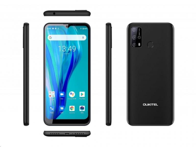OUKITEL C23 Pro 4GB/64 GB Dual SIM, černá - obrázek č. 0