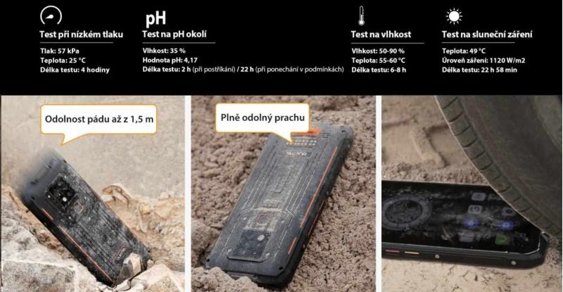 Oukitel WP9 Red - obrázek č. 7