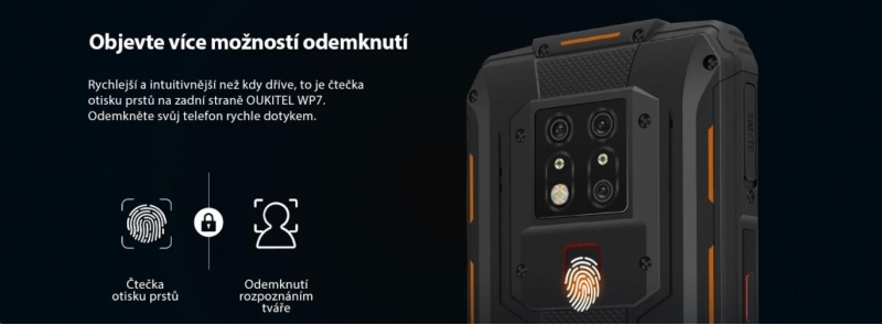 Oukitel WP9 Orange - obrázek č. 11