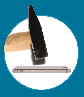 ScreenShield Tempered Glass Apple iPhone 6 a iPhone 6S  - obrázek č. 4