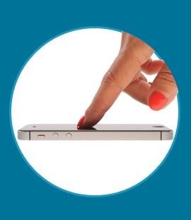 ScreenShield Tempered Glass Apple iPhone 6 Plus a iPhone 6S Plus - obrázek č. 2