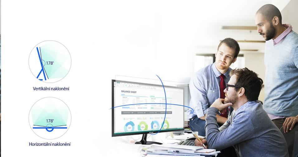 """Samsung S27F358 - LED monitor 27"""" - obrázek č. 3"""