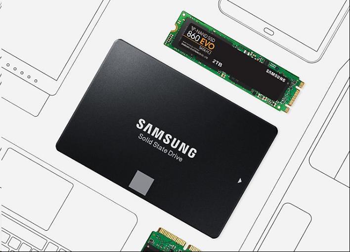 Samsung SSD 860 EVO, M.2, 250GB - obrázek č. 4