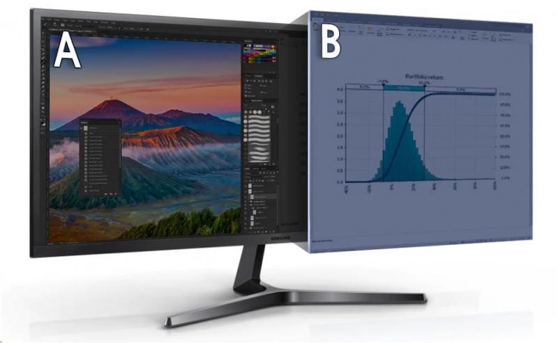 Samsung  S34J55WQUX LED monitor 34 - obrázek č. 2
