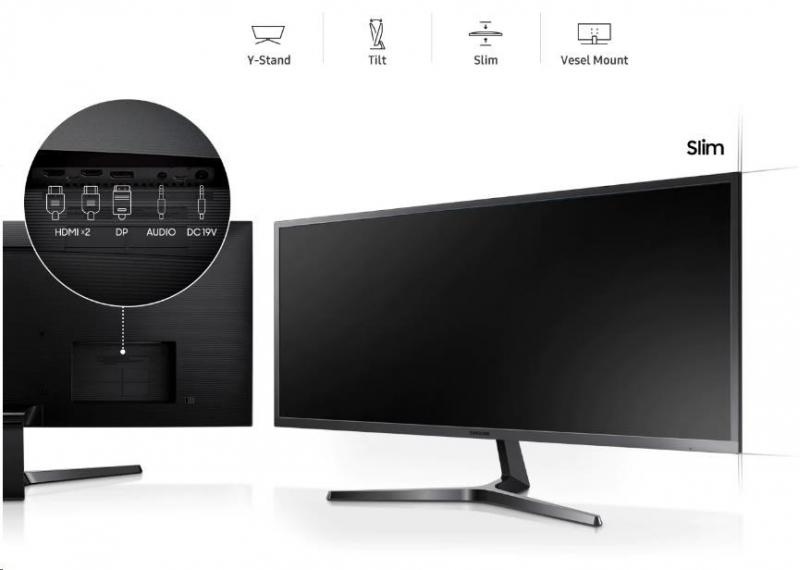 Samsung  S34J55WQUX LED monitor 34 - obrázek č. 3