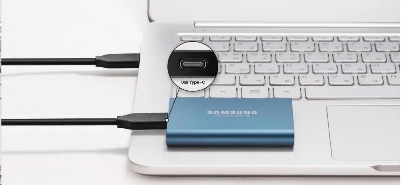 Samsung Externí SSD disk - 1 TB - zlatý - obrázek č. 3