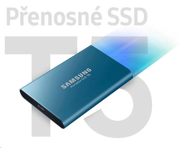 Samsung Externí SSD disk - 1 TB - červený - obrázek č. 0