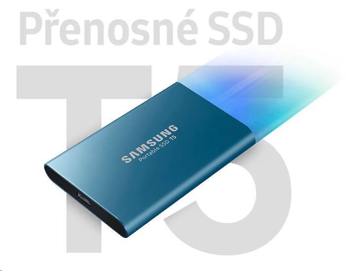 Samsung Externí SSD disk - 500 GB - červený - obrázek č. 0