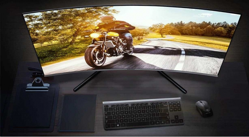 Samsung MT LCD 32LC27RG50FQUXEN - 2560 x 1440, 4ms, VA panel, HDMI, Display port, prohnutý - obrázek č. 1