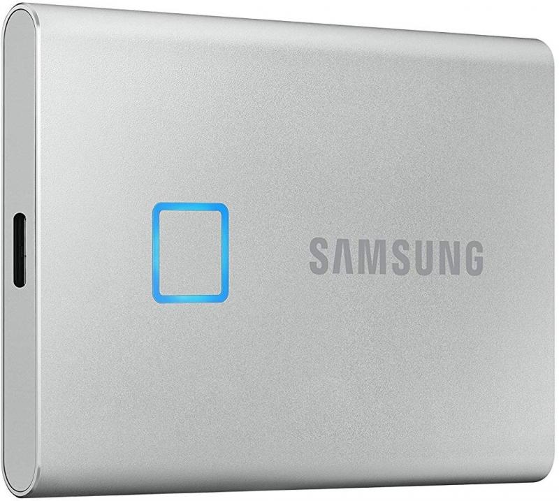 Samsung T7 Touch - 2TB, stříbrná - obrázek č. 0
