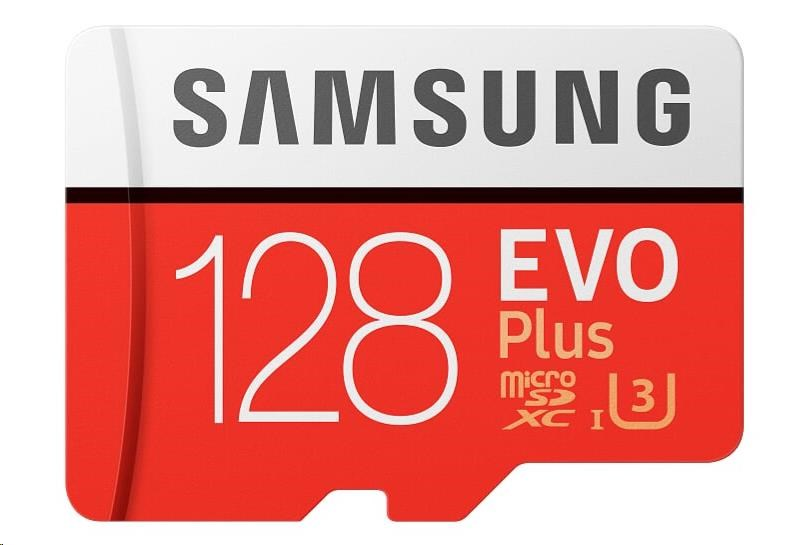 Samsung EVO Plus Micro SDXC 128 GB UHS-I U3 - obrázek č. 0