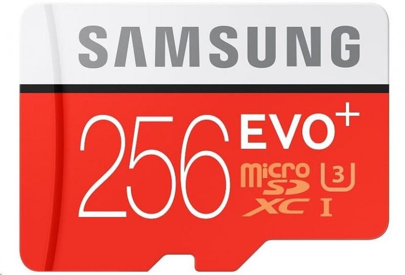 Samsung EVO Plus Micro SDXC 256 GB HS-I U3 - obrázek č. 0