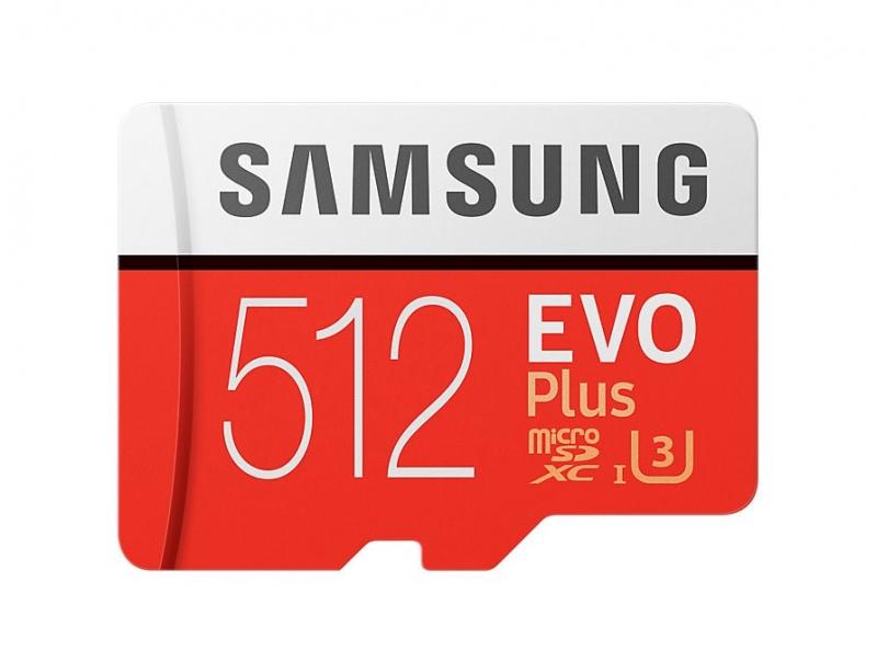 Samsung EVO Plus Micro SDXC 512 GB UHS-I U3  - obrázek č. 0