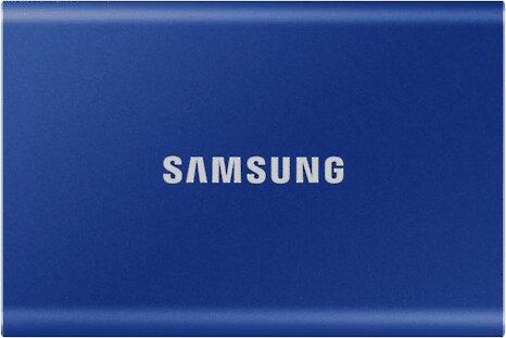 Samsung T7 - 500GB, modrá - obrázek č. 0