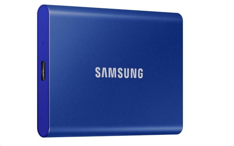 Samsung Externí SSD disk - 1TB - modrý - obrázek č. 0