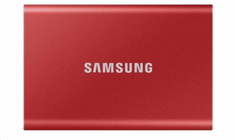 Samsung T7 - 2TB RED - obrázek č. 0