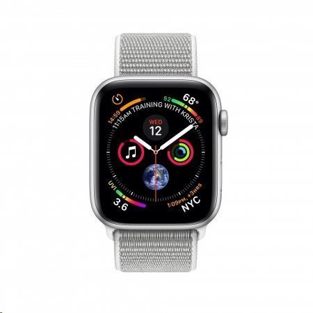AppleWatch Series4 GPS, 44mm, Silver/Seashell (mu6c2hc/a) - obrázek č. 0