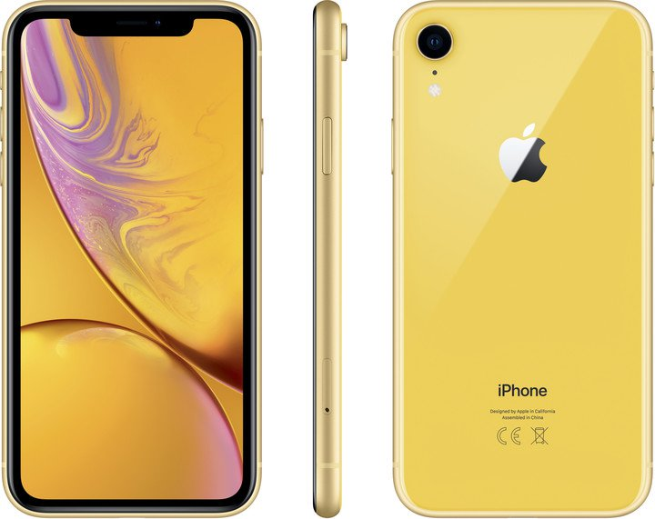 Apple iPhone XR 128GB, žlutý - obrázek č. 0