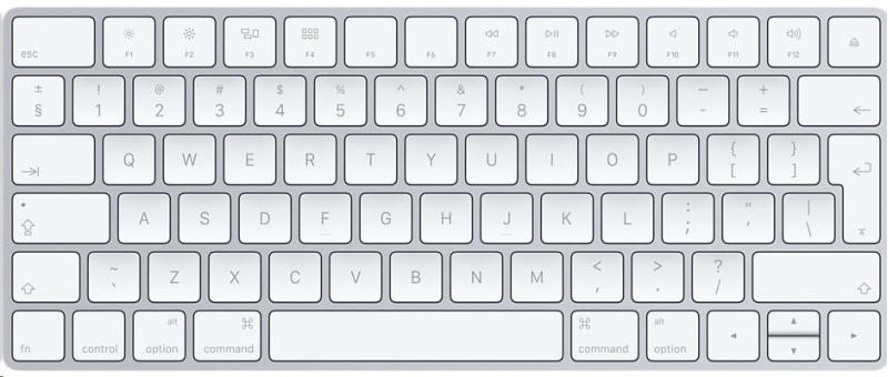 Apple Magic Keyboard, stříbrná, SK - obrázek č. 0