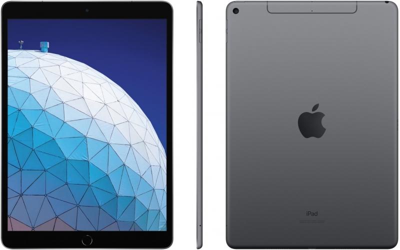 Apple iPad Air, 64GB, Wi-Fi + Cellular, šedá, 2019 - obrázek č. 0