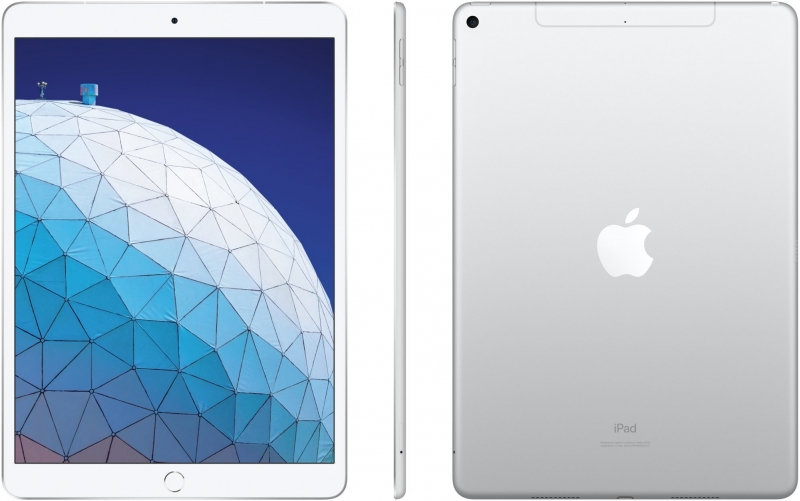 Apple iPad Air 256GB Wi-Fi+Cellular, stříbrná 2019 - obrázek č. 0