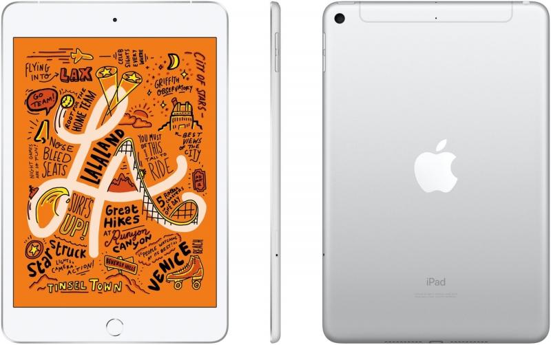 Apple iPad Mini 64GB Wi-Fi+Cellular stříbrná 2019 - obrázek č. 0