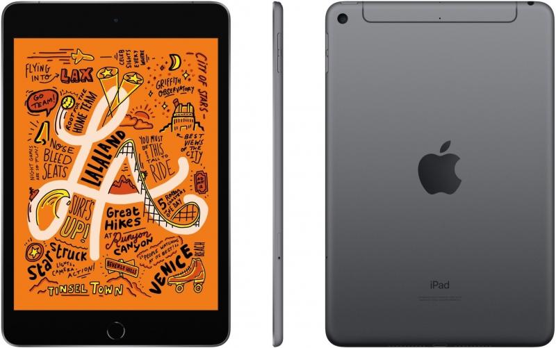 Apple iPad Mini 256GB Wi-Fi+Cellular šedá, 2019 - obrázek č. 0