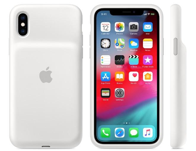 APPLE iPhone XS Smart Battery Case - White - obrázek č. 0