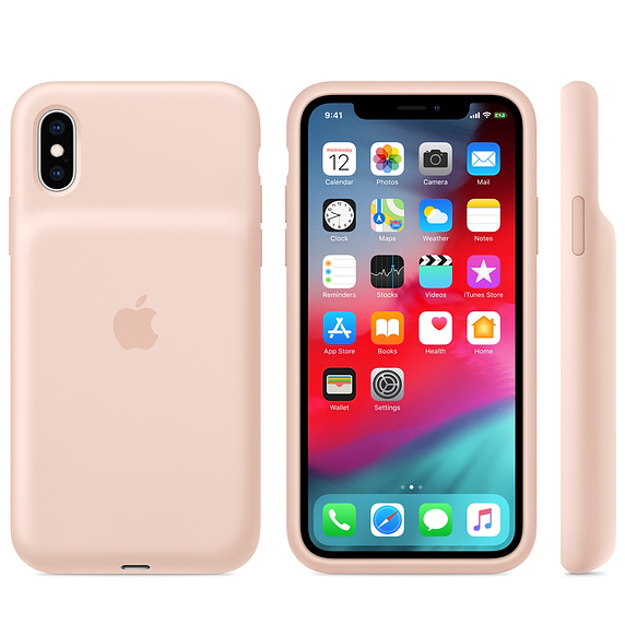 APPLE iPhone XS Smart Battery Case - Pink Sand - obrázek č. 0