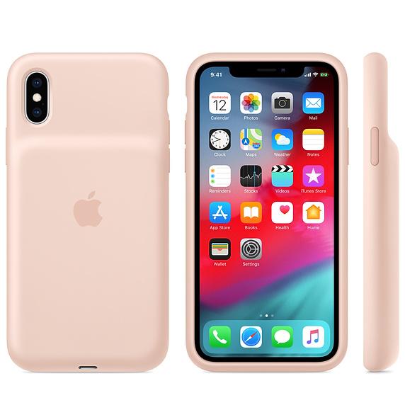 APPLE iPhone XS Max Smart Battery Case - Pink Sand - obrázek č. 0