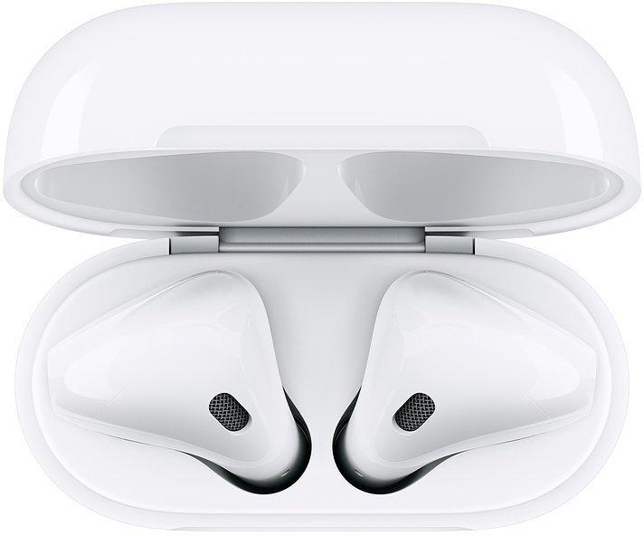 Apple AirPods s bezdrátový nabíjecím pouzdrem - obrázek č. 0