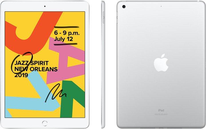 iPad 7 10,2'' Wi-Fi 32GB - Silver - obrázek č. 0