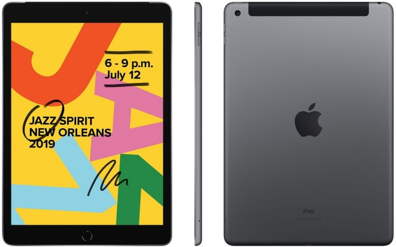 iPad 7 10,2'' Wi-Fi + Cellular 32GB - Space Grey - obrázek č. 0