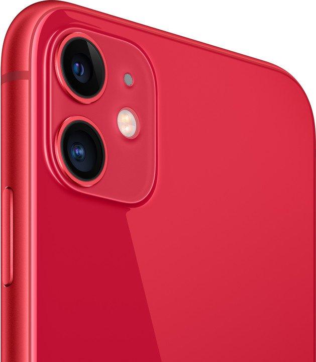 Apple iPhone 11 64GB, Red - obrázek č. 0