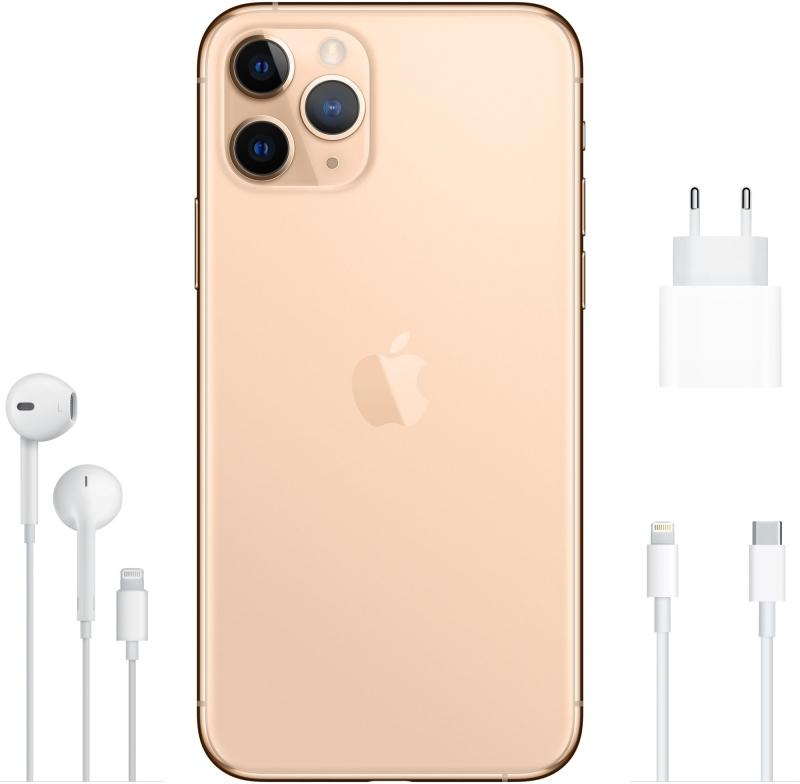 Apple iPhone 11 Pro 64GB, Gold - obrázek č. 0