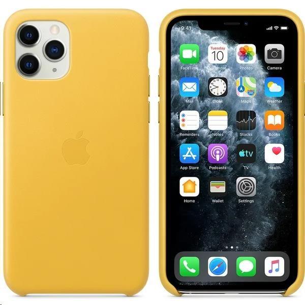 iPhone 11 Pro Leather Case - Meyer Lemon - obrázek č. 0