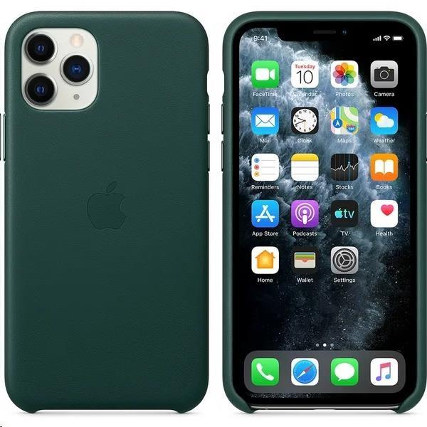 iPhone 11 Pro Leather Case - Forest Green - obrázek č. 0